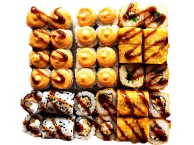 набор Жареный лосось
